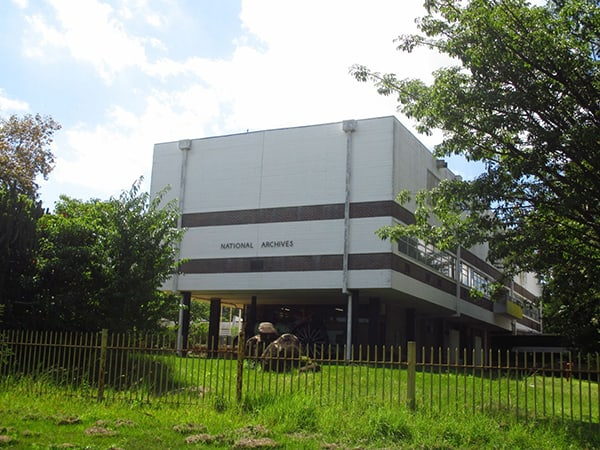 National Archives Harare
