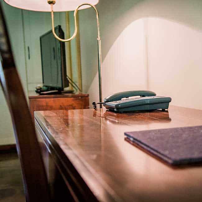 York Lodge Rooms Desk