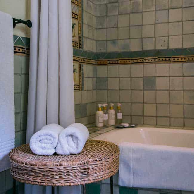 York Lodge Rooms Towels